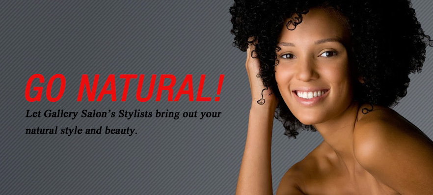 Gallery Salons natural hair style
