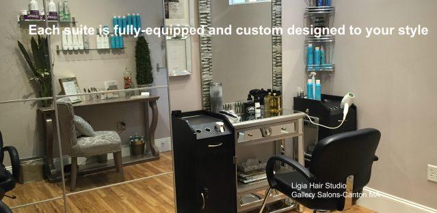 Customized salon suite