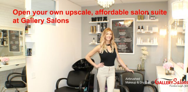Open your own Salon Suite at Gallery Salons