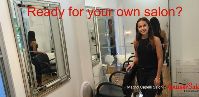 Ready for your own salon?