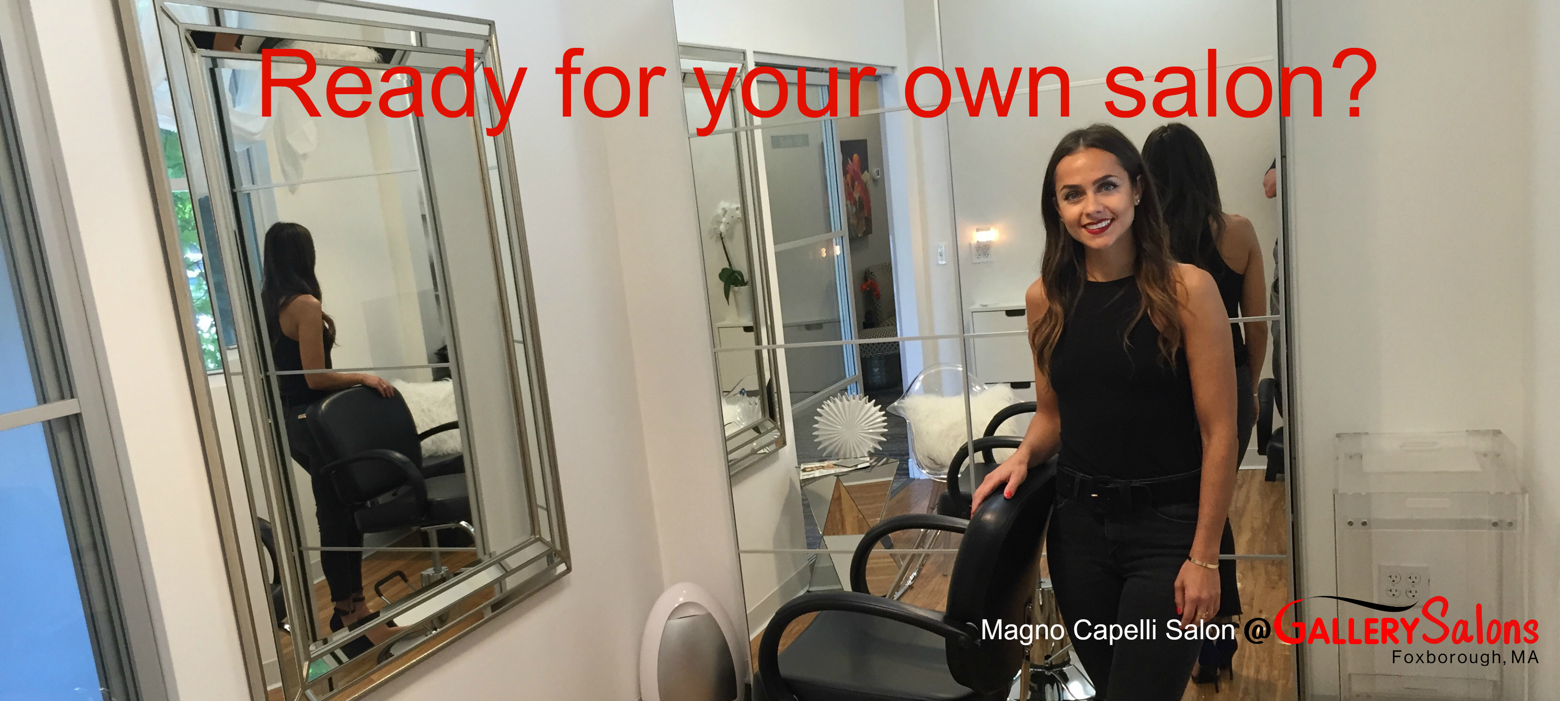 Gallery salons ready for your own salon for Design your own salon